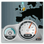 Broadband speed test