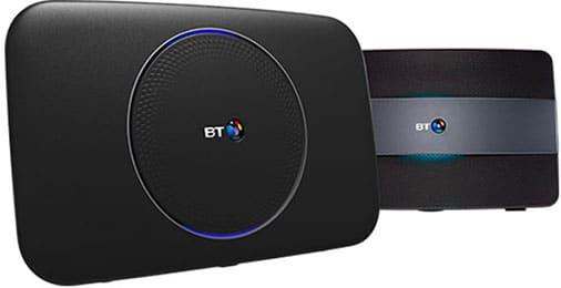 BT Smart Hub and Hub 2