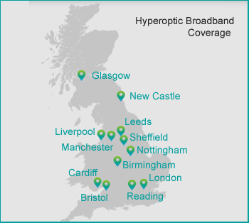 Hyperoptic broadband coverage map