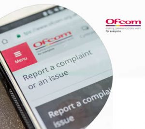 Ofcom broadband complaints report