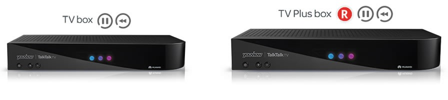 TalkTalk TV Boxes