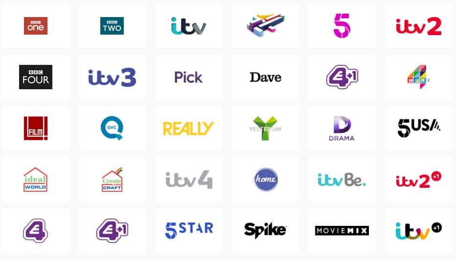 TalkTalk TV Channels