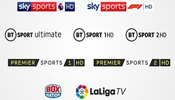 Virgin TV with Sports